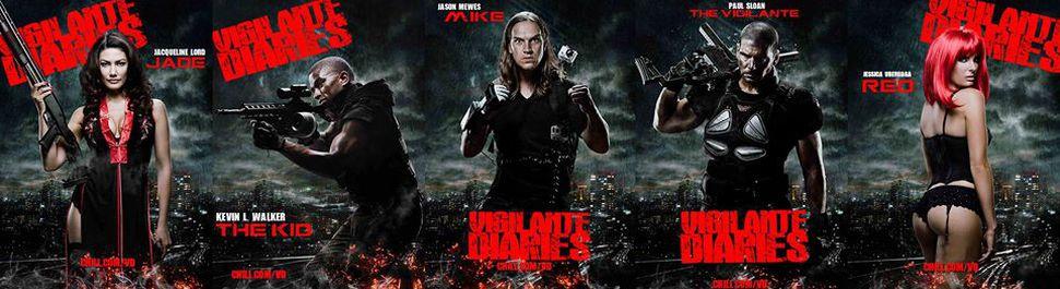 Vigilante Diaries - Kevin L. Walker / Jason Mewes