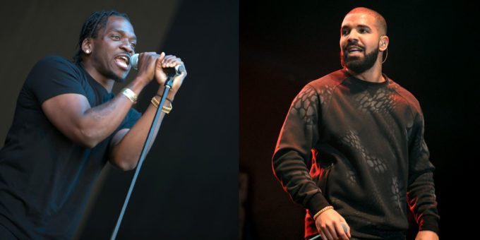 """Listen: Drake Disses Pusha-T and Kanye in New Song """"Duppy Freestyle"""""""