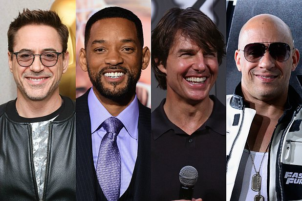 Some of Hollywood's Highest Paid Entertainers