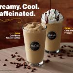 McCafé Introduces New Cold Brew Frozen Drinks