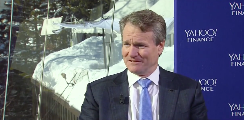 Bank of America CEO Brian Moynihan- We have tons of blockchain patents