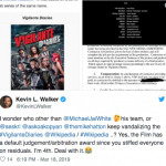 Vigilante Diaries Star Kevin L. Walker Confirms 100% Arbitration Award for Cast and Crew