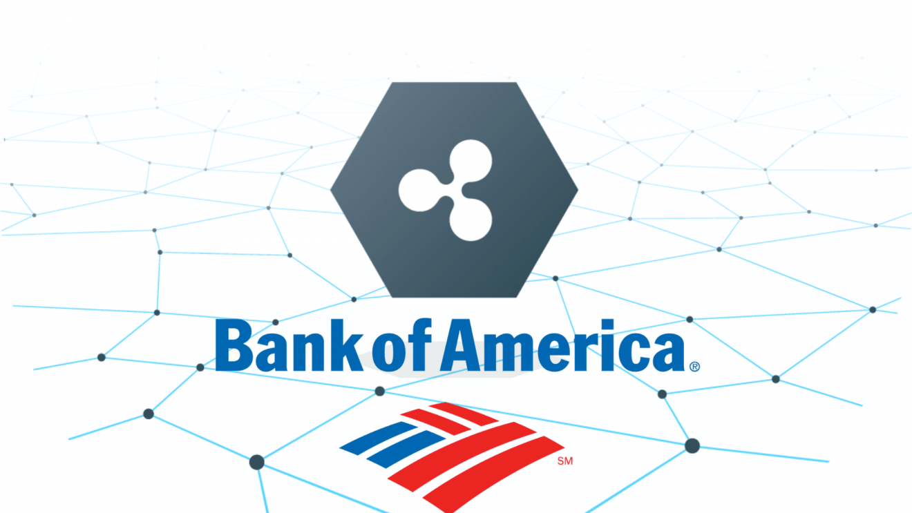 Bank of America files patent citing Ripple Technology for realtime payments
