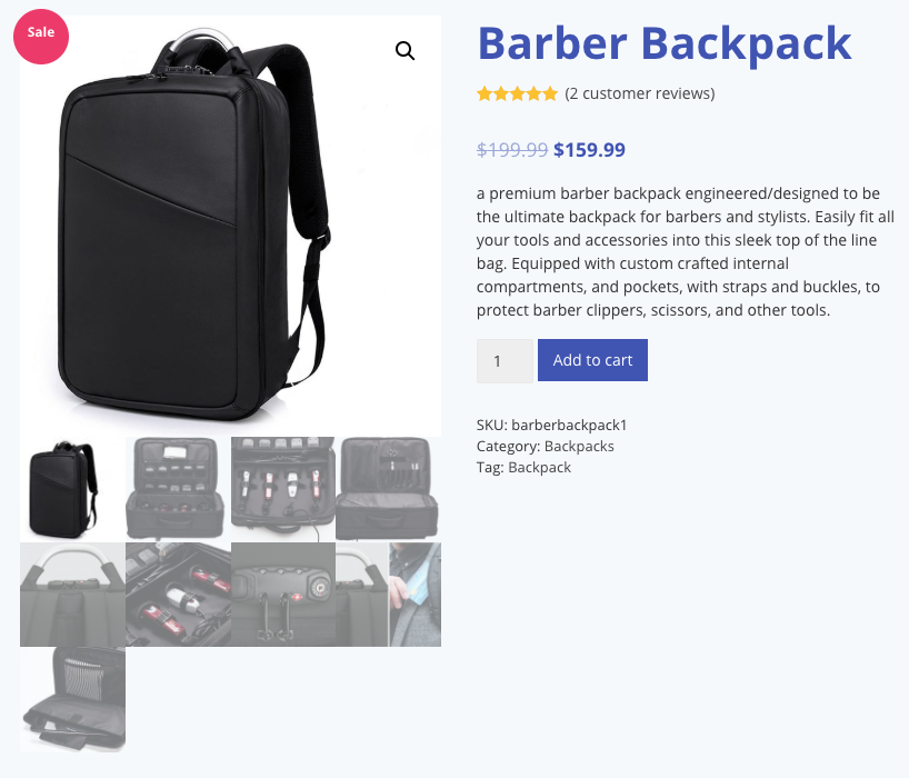 The Barber Backpack Launches Sleeker Slimmer Bag Dedicated to Affordable Pricing