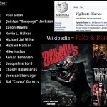 Wikipedia Admins Publish and Promote False Incorrect Information on Vigilante Diaries & Kevin L Walker on Wikipedia 00