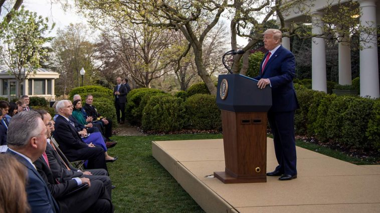 Trump Says Social Distancing Guidelines Will Be Extended To April 30