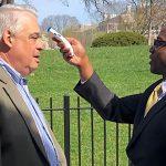 White House begins Checker visitors for Fevers in Coronavirus Crackdown