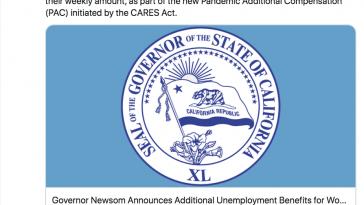 Gavin Newsom States Californian's Will Begin Receiving $600 Payments Starting Sunday 04:12