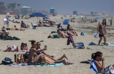 Orange County CA Opens Some of its Beaches as The Heat Rolls In221