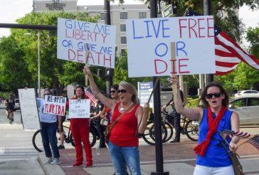 Protest Form Around The United States Against the Economic Shutdown
