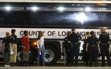 Over 92% of Over 2600 arrests in Los Angeles were for 'failure to disperse' or curfew violations