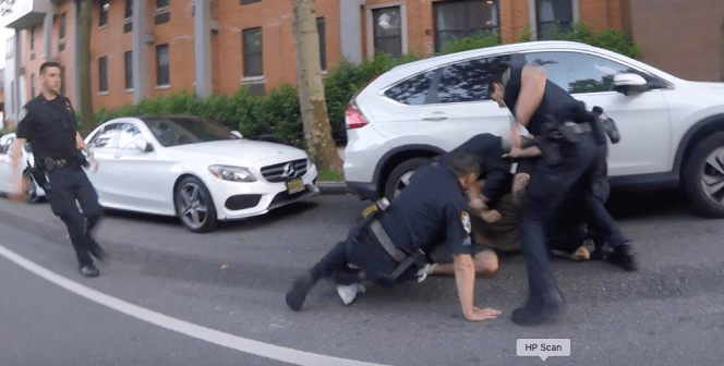 Police Beat Up Cyclist During Black Lives Matter Protest in Brooklyn
