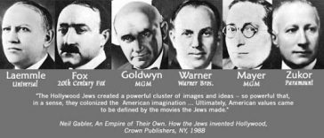 Via La Times- Do Jewish People Run Hollywood?